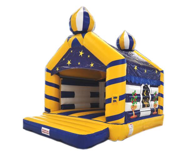Hüpfburg Aladin mit Dach