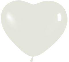 Herzballons 6 Fashion Solid kristallklar