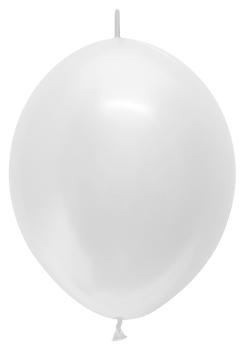 Ballons LOL-12 Satin Pearl weiß