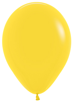 Ballons R5 Fashion Solid gelb