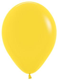 Ballons R5 Fashion Solid gelb