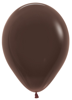 Ballons R5 Fashion Solid schokolade