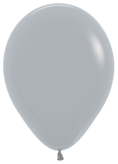Ballons R12 Fashion Solid grau