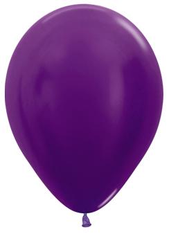Ballons R12 Metallic lila