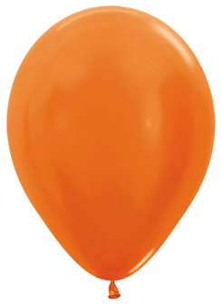 Ballons R5 Metallic orange
