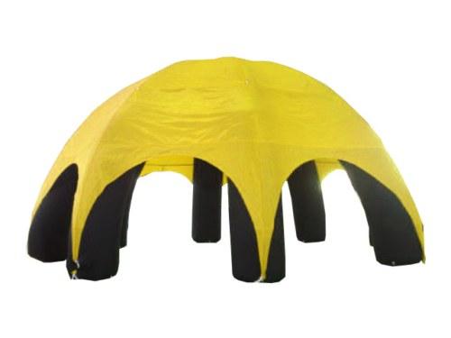 Event Dome (Event Zelt) aufblasbar Gelb