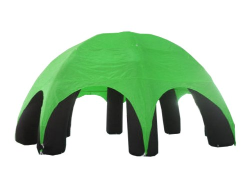 Event Dome (Event Zelt) aufblasbar Grün