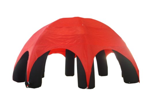 Event Dome (Event Zelt) aufblasbar Rot