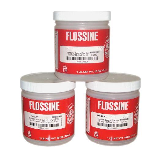 Farbaroma Flossine Bubble Gum (Rosa) für Zuckerwatte in der Dose