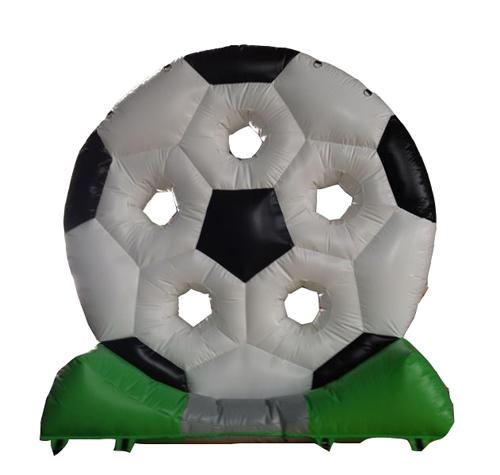 Fußballrad aufblasbar
