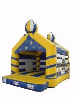 Hüpfburg Aladin mit Dach 4x5m