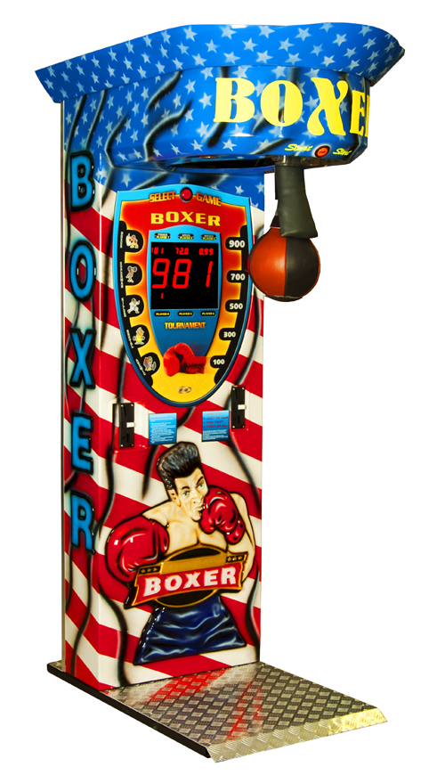 Boxautomat Version 3D Boxer