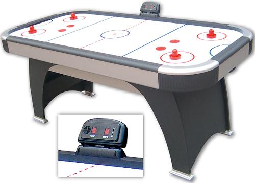 Airhockey ZODIAC, der stabile Airhockeytisch für die gesamte Familie