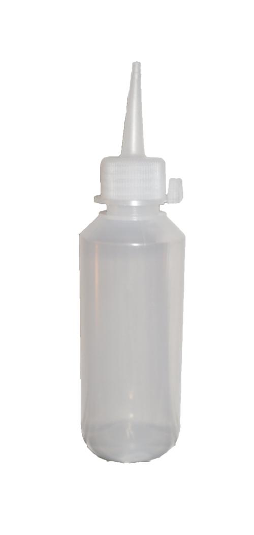 Flasche 100 ml mit spitzer Verschlusskappe für Fun Spinner Farben