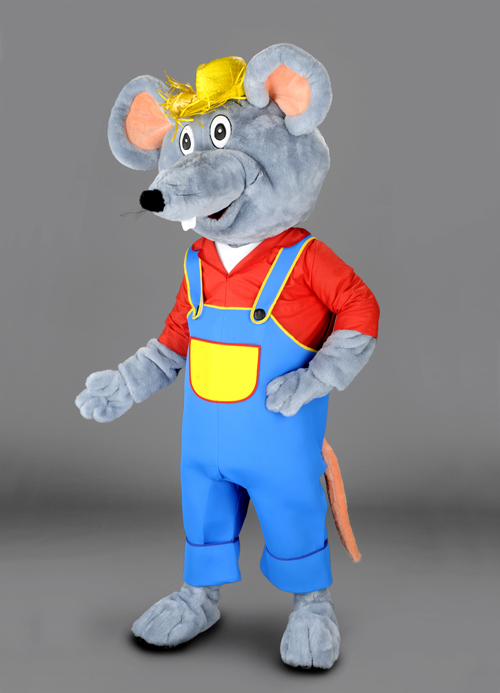 Kostüm Maus in Latzhose