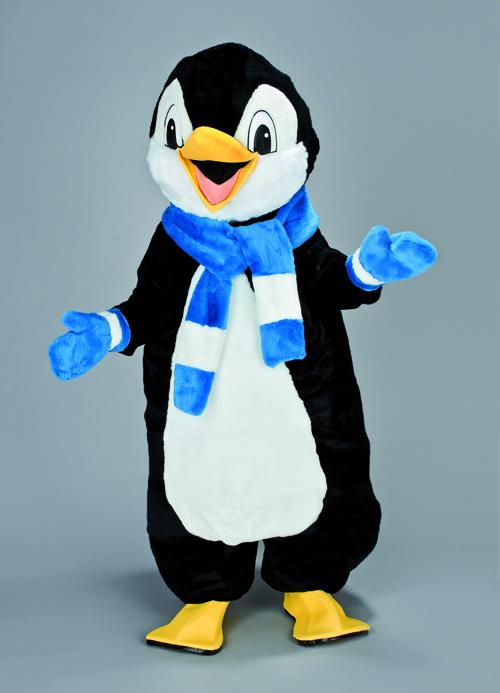 Kostüm Pinguin mit Schal