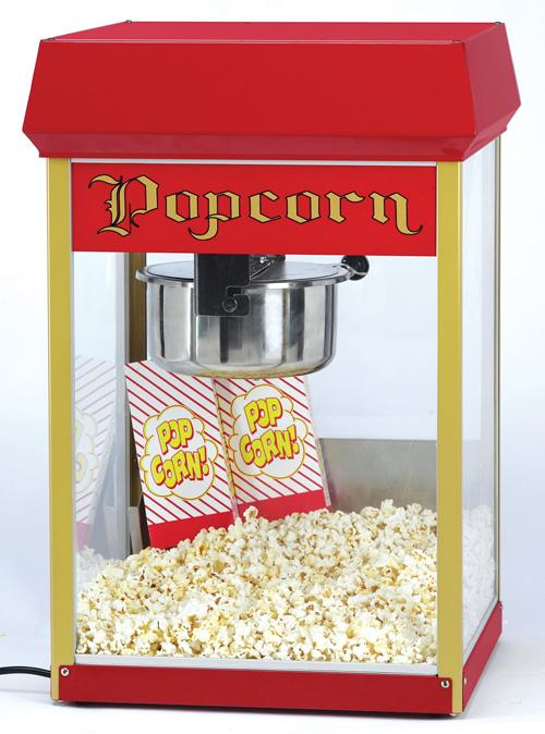 Popcornmaschine Europop / Funpop 8oz/ 228g