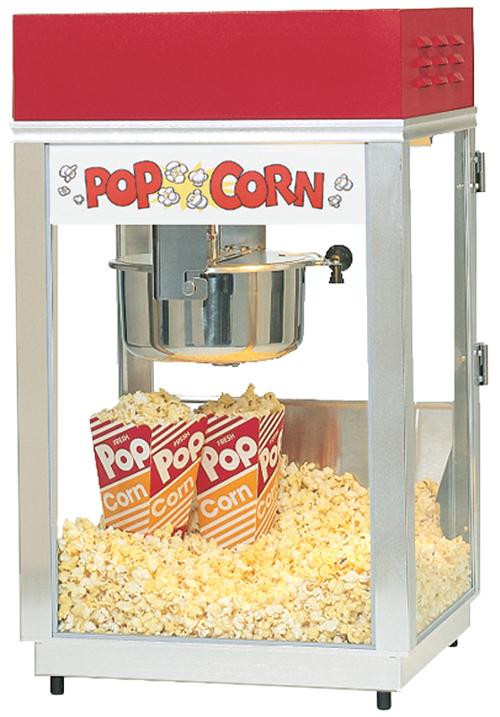 Popcornmaschine für Vermieter Pop About 6oz/171g