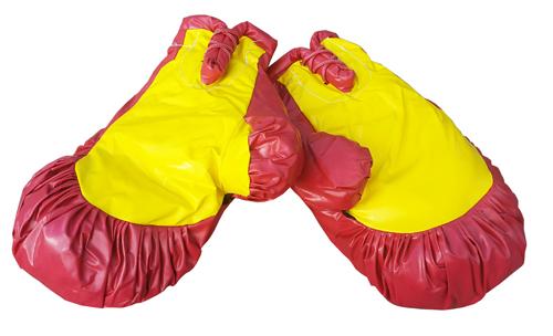 Riesenboxhandschuhe 1 Paar rot