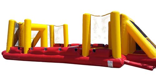 Riesenkickerkissen - für Kinder geeignet / Human table soccer