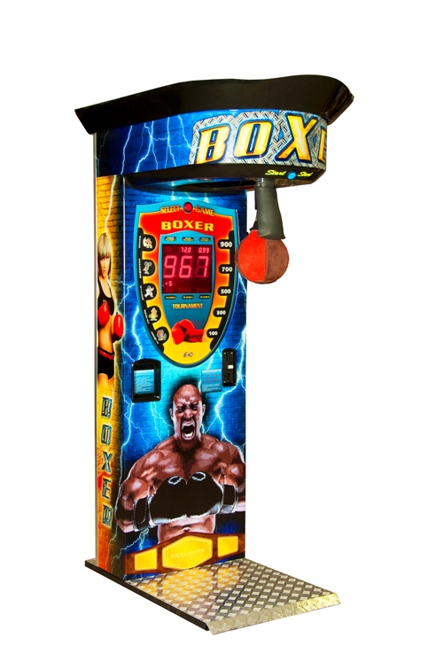 Boxautomat Version Cube Sticker Boxer