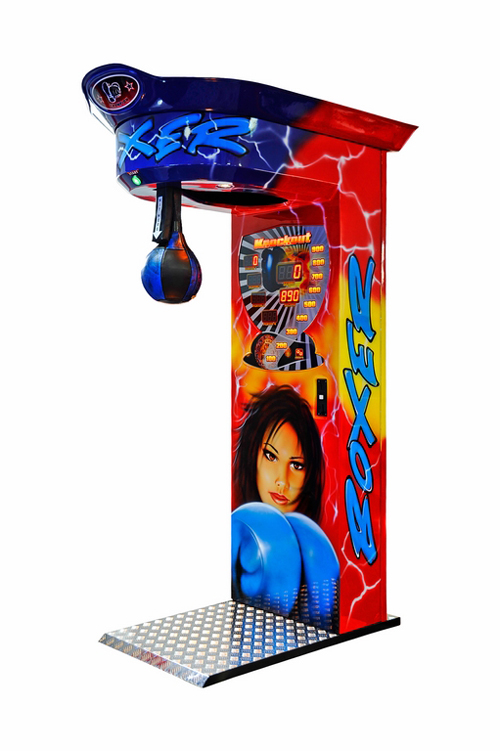 Boxautomat mit Airbrushbemalung