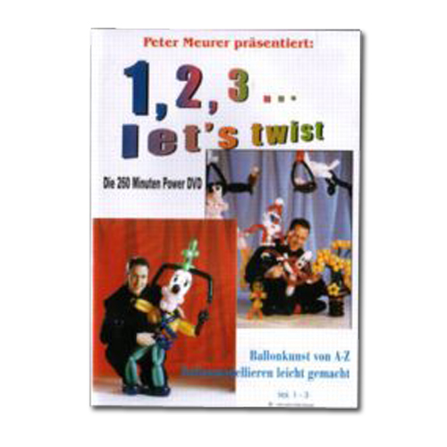 DVD 1,2,3... let`s twist Vol 1-3