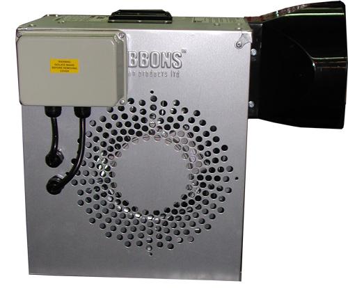 Gebläse Gibbons mit Timer (Metallgehäuse) 1,1 kw 1,5hp