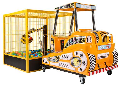 Kiddie Ride Baggersimulator