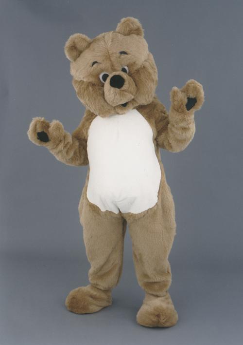 Kostüm Bär mit weißem Bauch
