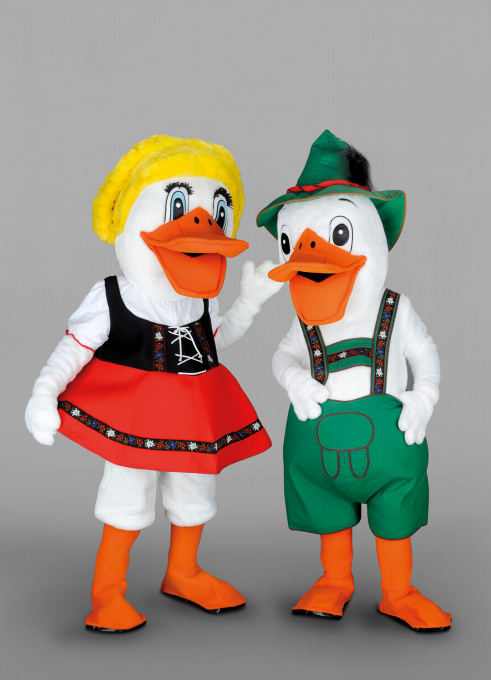 Kostüm Enten- Paar bayrisch
