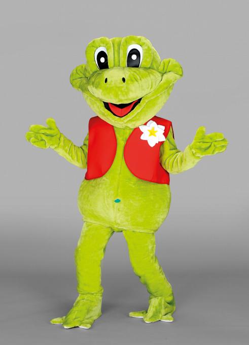Kostüm Frosch hellgrün