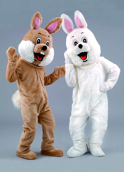 Kostüm Hase in weiß