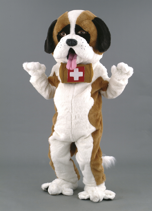 Kostüm Hund Bernhardiner