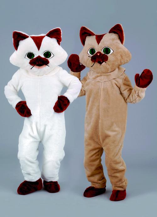 Kostüm Katze weiß oder braun