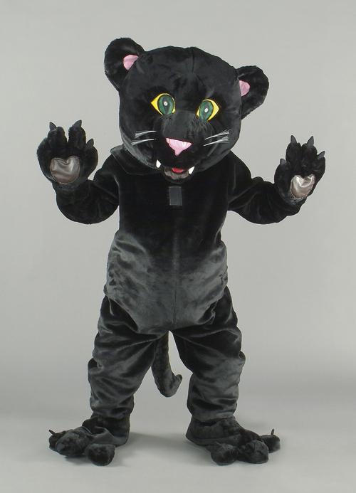 Kostüm Puma schwarz