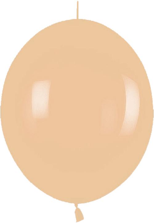 Ballons LOL-12  Fashion Solid pfirsich (Hautfarben)