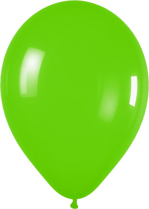 Ballons R12 Fashion Solid limonengrün