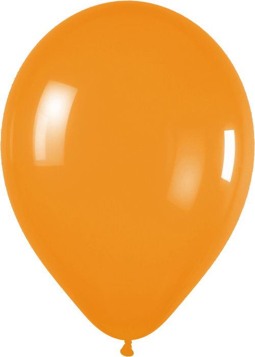 Ballons R5 Fashion Solid orange