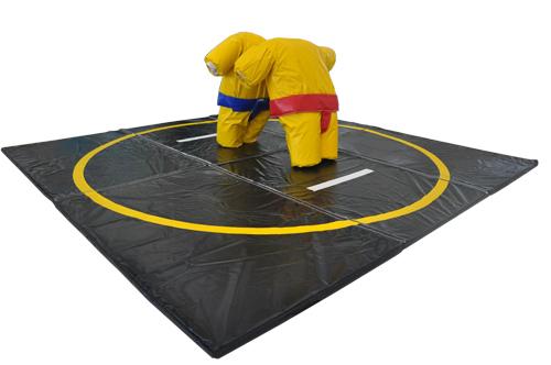 Sumo-Wrestlinganlage fest gepolstert