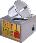 Double Reddy Apple Cooker / Apfel-Glasier-Gerät