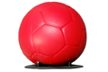 Ersatzball für Schusskraftmesser Fußball (roter Gummiball)