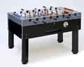 Tischfußball mit Münzeinwurf schwarz-blau