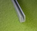 Kunststoffprofil kurz Scheiben unten/oben 4oz (2404EX)