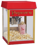 Popcornmaschine Funpop / Europop 4oz / 114g