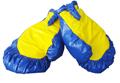 Riesenboxhandschuhe 1 Paar blau