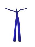 Skydancer Zweibein Figur BLAU
