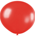 Ballons 1m Durchmesser Fashion Solid rot
