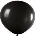 Ballons 1m Durchmesser Fashion Solid schwarz
