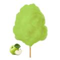 Farbaroma Flossine Apfel (Grün) für Zuckerwatte in der Dose